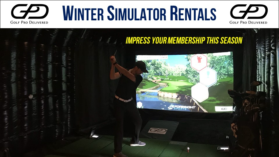 Monthly Golf Simulator Rentals