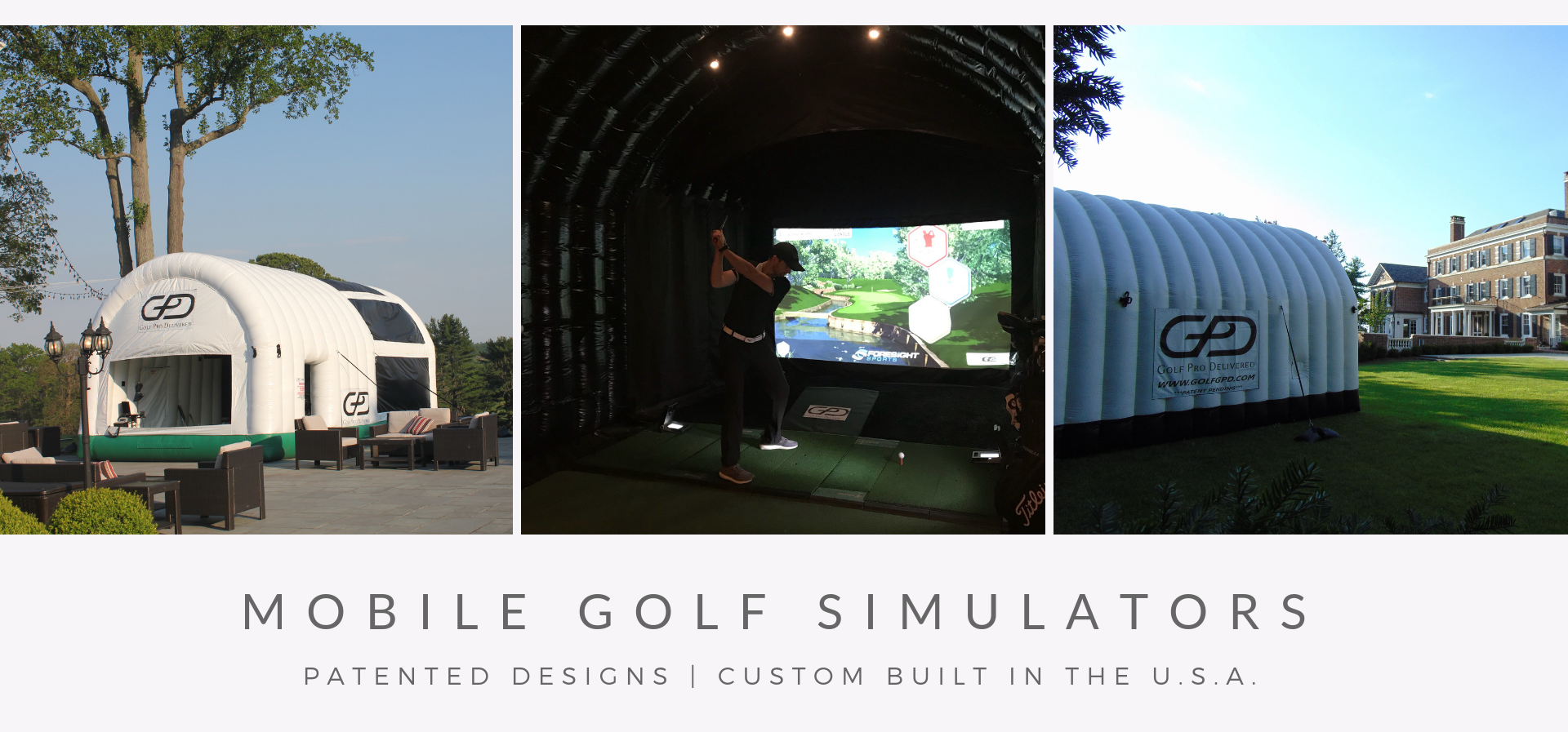 Inflatable Golf Simulators - Golf Pro Delivered
