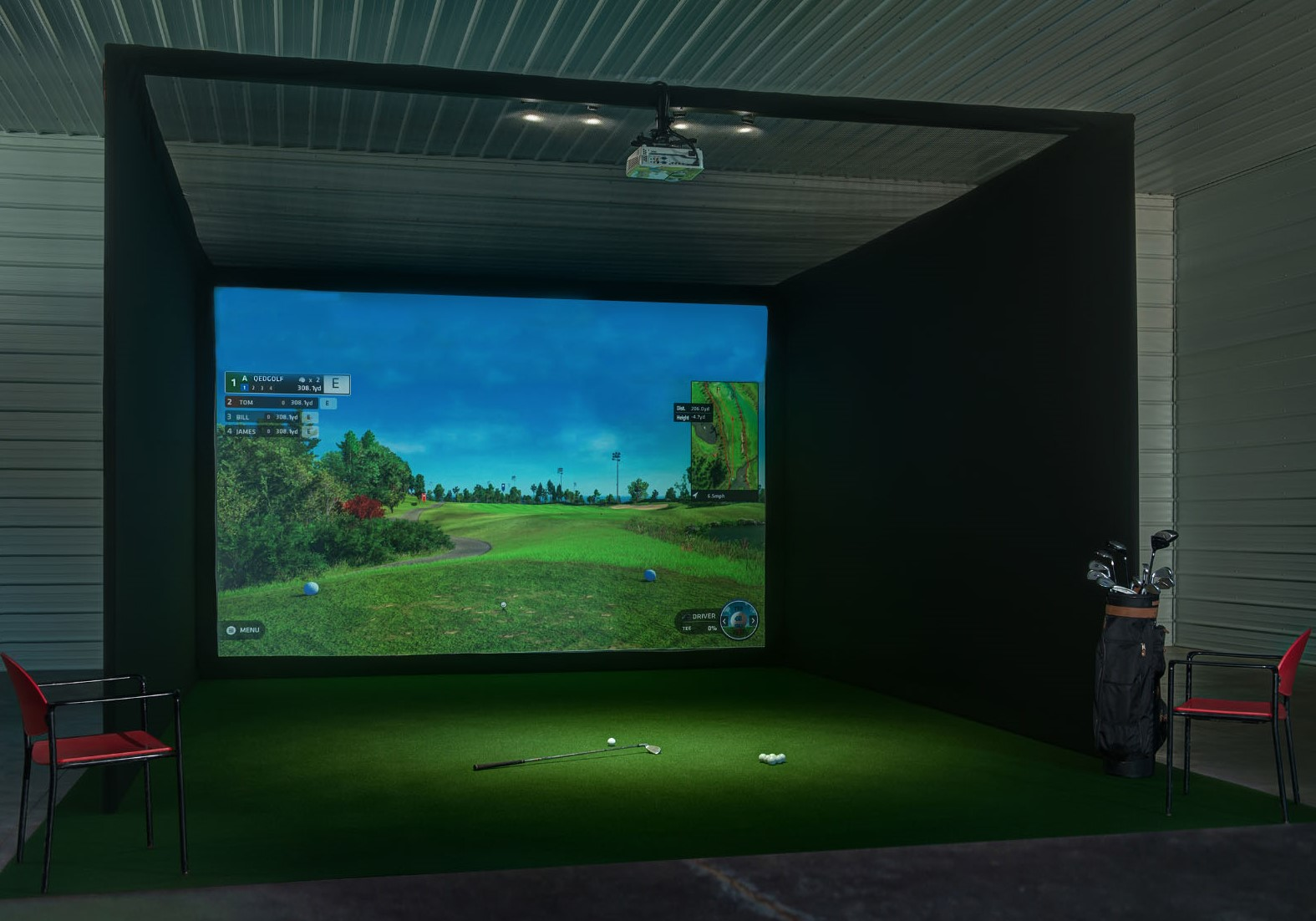 Home Golf Simulators