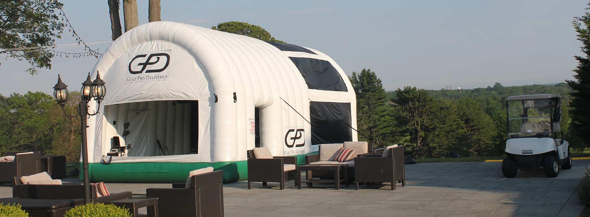 Inflatable Golf Simulators